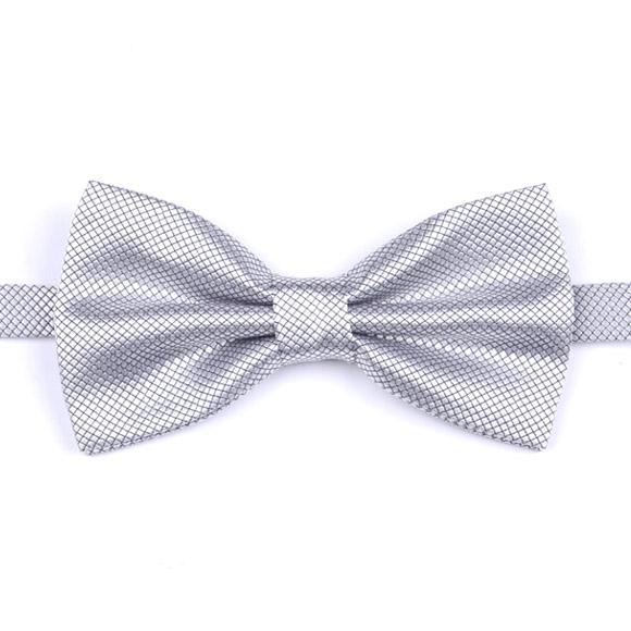 coffret cadeau Elegant Noble Satin couleur solide nuptiale / marié bestman cravates Party Ties Business Bow Tie