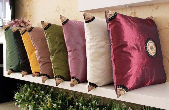 Pillow Cover Design In Pakistan: Designs Cushion Covers 16 X 16 Wholesale Decorative Satin Fabric    ,