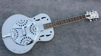 guitares classiques livraison gratuite achat en gros de-Nouvelle arrivée chaud classique Dobro guitare gris guitare électrique Chine usine gros guitares de Chine livraison gratuite