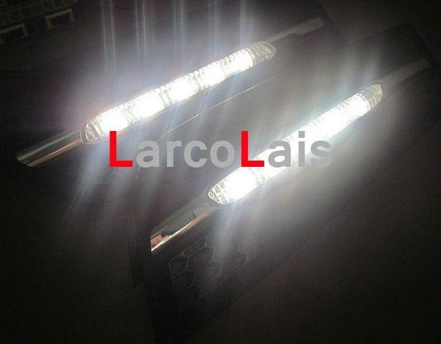/ LED 안개 램프 조명 전구 Chevrolet Cruze 2009 2010 자동차 주간 주행 빛