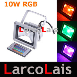 Wholesale Led Color Wash - 10W 85-265V RGB Projection LED Flood Wash Light Floodlight Outdoor Color Change