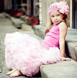 Wholesale Dress Tutu Baby Petti - Baby Girl TuTu Petti Skirts Baby Girls Pettiskirt Girl Dress Skirts