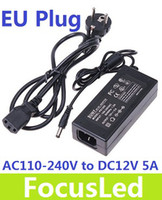 Wholesale Power Balancer - Power adapter charger 60W AC 100-240V to DC 12V 5A Power Supply Adapter Balancer Charger