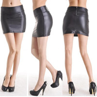 Cheap Leather Mini Skirt | Free Shipping Leather Mini Skirt under ...