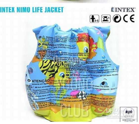 Lo swimwear gonfiabile della maglia della maglia di vita del giubbotto di salvataggio dei bambini del pesce del gioco del fumetto adorabile SME libera il trasporto
