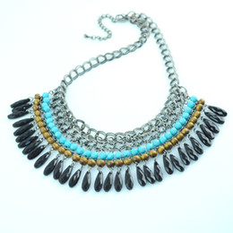Wholesale Beaded Cluster - beaded necklaces,fashion pendants necklace.2013 New arrival.NL-970