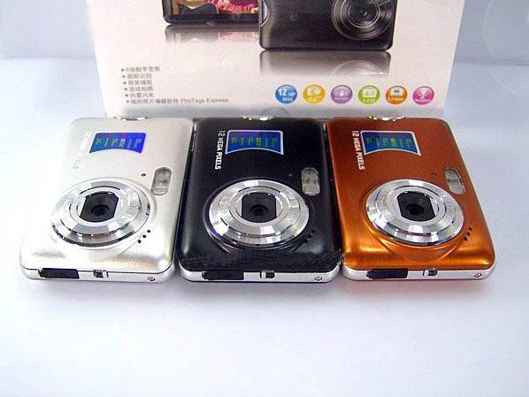 DC520 12MP спортивная цифровая камера 2.7-дюймовый ЖК-экран 8x зум VGA (640*480) 30 кадров в секунду 10 шт.