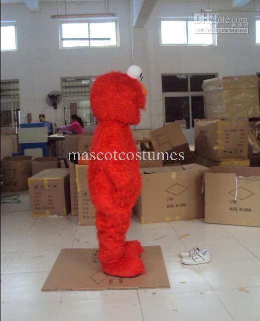 Adulte Bleu En Peluche Cookie Monster Elmo Mascot Costumes Livraison Gratuite Custom Made Toute Taille Toute Couleur
