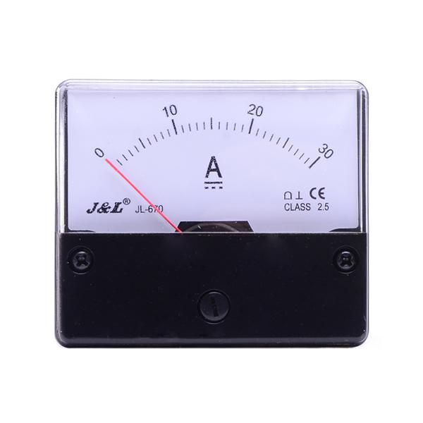 Ampere Meter Instrument : New professional analog panel amp meter dc a ammeter
