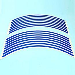 Wholesale Suzuki Blue Decals - Blue Stripes Sticker Wheel Decal Tape For Suzuki GSXR