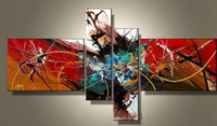 Wholesale expressions painting online - Art Modern Abstract Oil Painting Cool Best Painting Abstraction Colorful Expression for Sale