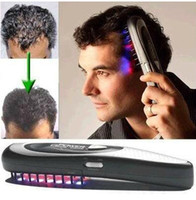 Wholesale Cure Laser - New Power Grow Laser Comb Kit Regrow Hair Loss Therapy Cure VIA CHINA POST AIR men father Gift
