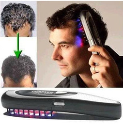 Wholesale New Power Grow Laser Comb Kit Regrow Hair Loss Therapy Cure VIA CHINA POST AIR men father Gift