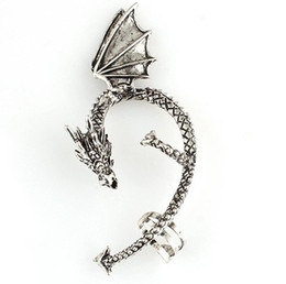 Chriatmas Party Using,Vintage Wings Dragon Earrings Men Women's Earrings ,Free shipping