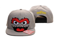 Wholesale Nice Hat Snapback - Oscar Face Sesame Street Hat 2012 New Caps Nice Quality Snapback Cap Caps Hat Hats