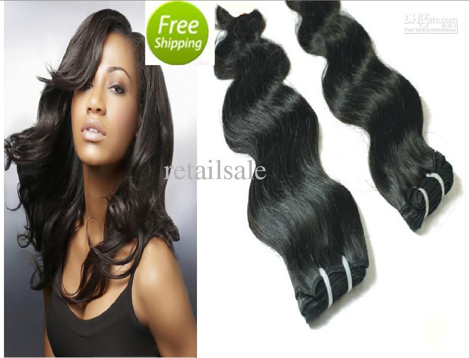 Body Weave 20 To 28 5 Bundles Virgin Peruvian Remy Hair Extensions