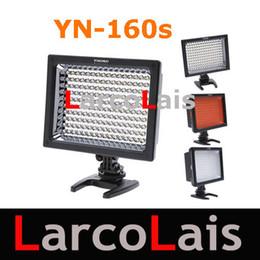 Wholesale Led Lights Video Yongnuo - YONGNUO YN-160s LED Video Light for Canon Nikon Pentax Panasonic SLR Cameras New