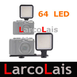 Wholesale Led Lights Video Yongnuo - YONGNUO SYD-0808 With 64 LED 480LM LED Video Light For Canon Nikon Sony DSLR DV Camcorder Lighting