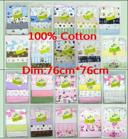 best selling Baby 4 Flannel Receiving Blankets Just Born circo Summer Air Conditioning blanket 30*30inch Newborn