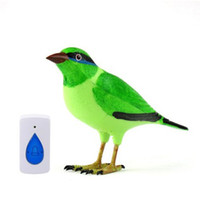 Wholesale remote control birds - Home Wireless Bird Remote Control Digital Doorbell, freeshipping