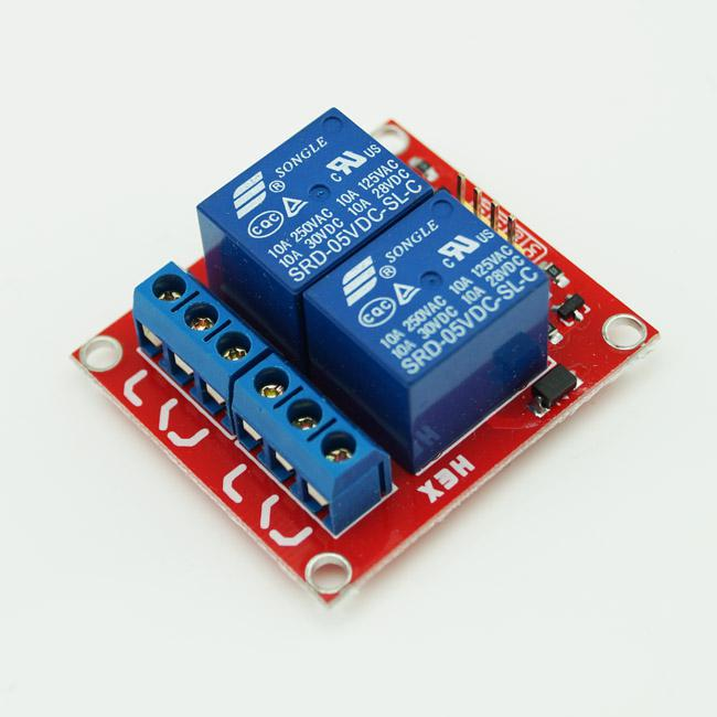5V 2-Channel Relay Module Shield for Arduino ARM PIC AVR DSP Electronic 10A #BV088 @CF