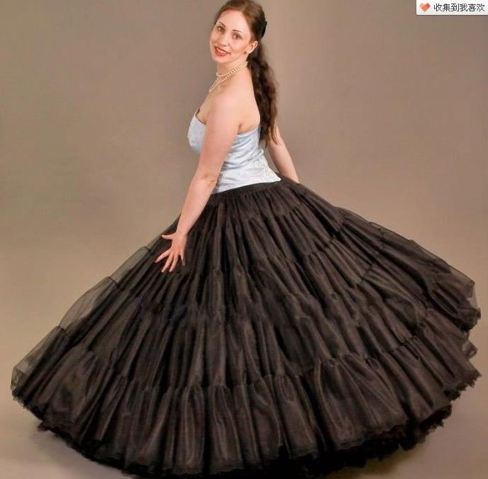 ¡envío gratis! Venta caliente recibió la enagua de flamenco con nuevo diseño de tela de calidad Hig2 # FP01