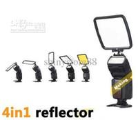 ingrosso sony lampeggia-Diffusore universale per diffusore flash Flash Diffusore per Canon Nikon Olympus Samsung Sony Nissin Tumax
