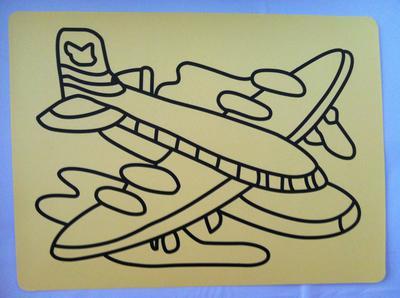 Freies Verschiffen / Sand Kunstaufkleber Karten