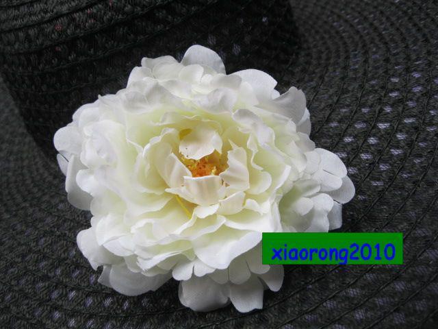 실크 모란 꽃 머리 13cm 실크 인공 빅 Peonia 동백 꽃 머리 동백 꽃 장식 꽃 보석에 대 한
