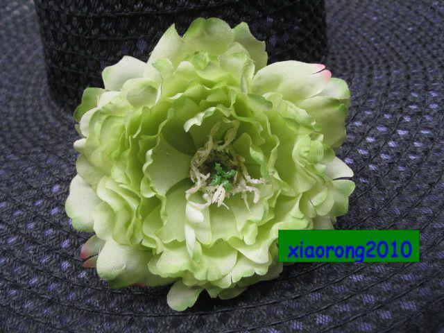 Lage prijs groothandel 100 stks 13cm zijde kunstmatige simulatie pioenroos rose camellia bloem hoofden voor bruiloft decoratieve bloem