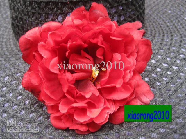 NEUE ANKÜNFTE GUTE QUALITÄT 30 stücke 13 cm Seide Künstliche Simulation Pfingstrose Rose Kamelie Party Dekorative Blume