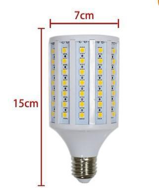 CA brilhante super de 220W 220 - branco fresco da lâmpada da ampola do milho do diodo emissor de luz SMD 5050 de 240V E27 102