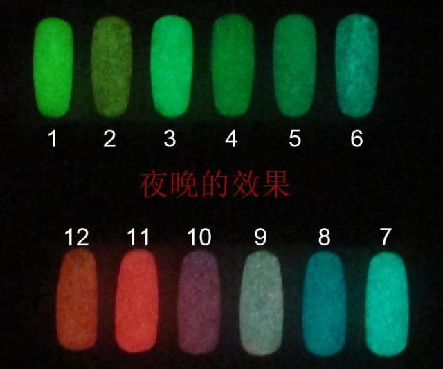 Luminous Nail Polish Glow Glitter In The Dark Paint Lacquer B272 ...