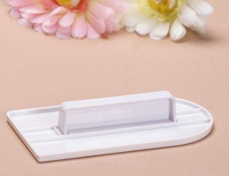 Pastel blanco decorar glaseado Suave pulidor fondant herramienta de cocina sugarcraft