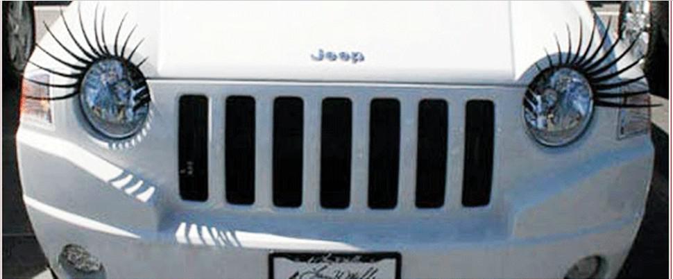 Online Cheap Car Eyelashes Car Accessories 3d Eyelash3d Car Logo