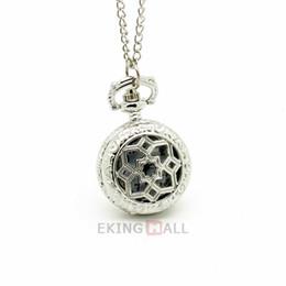 Wholesale Necklaces Collection - 10PCS COLLECTION Antique Bronze Copper Star Quartz Pocket Watch Pendant Necklace Ladies Mens Watches