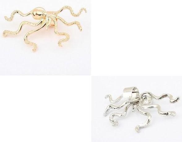 2012 Moda clipe de ouvido, forma anmial polvo brincos, 22252, frete grátis