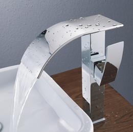 Bathroom Faucet For Vessel Sink tall vessel sink faucet waterfall online | tall vessel sink faucet