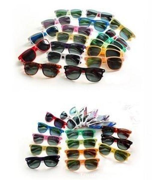 top popular 20PCS hot sale classic style sunglasses Designer womens glasses mens Sun glasses modern beach sunglasses Multi-color sunglasses 2019
