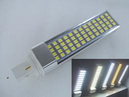 g24 52 led Canada - Free shipping 11W G24 or E27 LED light 52 SMD 5050 PL Replacement led Spotlight led Down Light Bulb