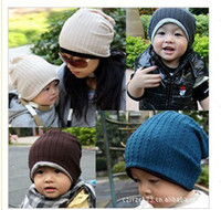 Wholesale Mj Baby - Hot sell children's hats MJ Baby Manual twist parent-child caps best selling