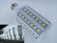 Wholesale E27 Corn Down - warm pure white 15W E27 LED light 86 SMD 5050 LED corn light bulb, led Spotlight ,led Down Light