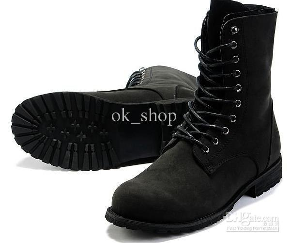 Men'S Fashion Shoes Brand New Mens Ankle Boots Classic Combat Jump ...