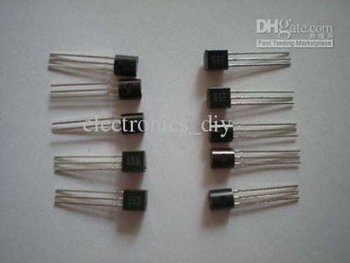 트랜지스터 A733 2SA733 PNP TO92 패키지 로트 당 1000 개