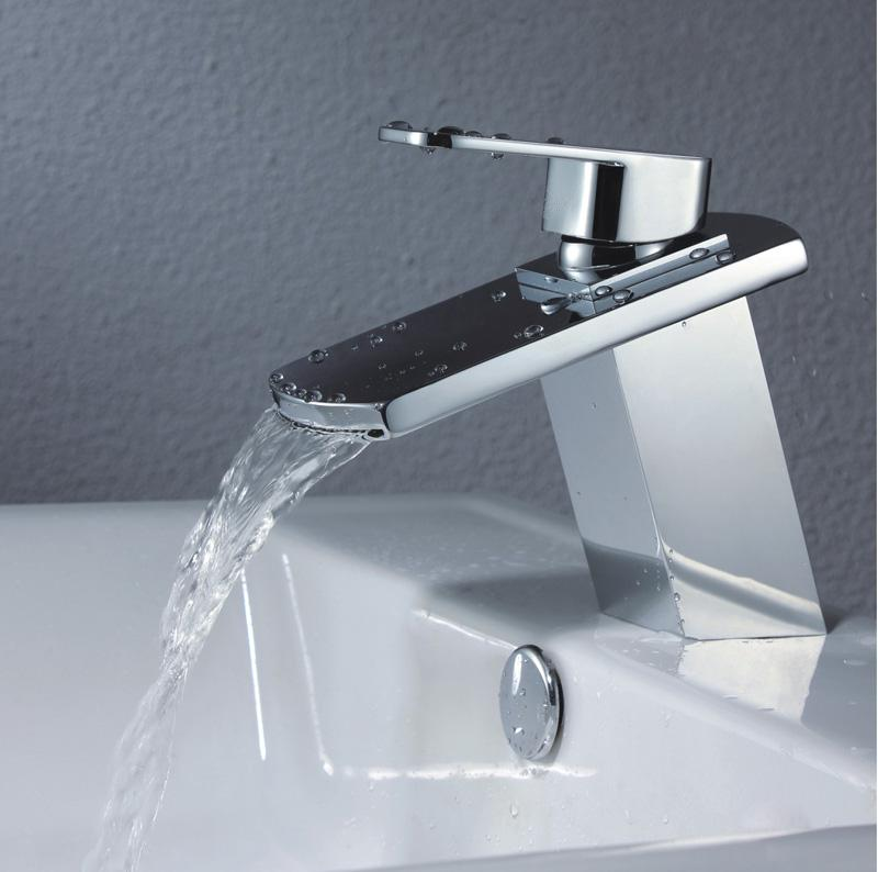 Exceptionnel 2018 New Big Mouth Waterfall Bathroom Faucet Mixer Tap Sm 225b From  Barbara0302, $86.44 | Dhgate.Com