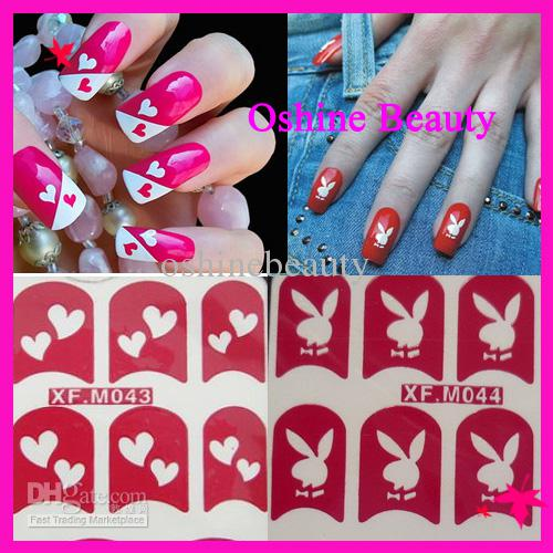 Nail Art Painting Stickers Toe Nail Stickers Nail Hollow