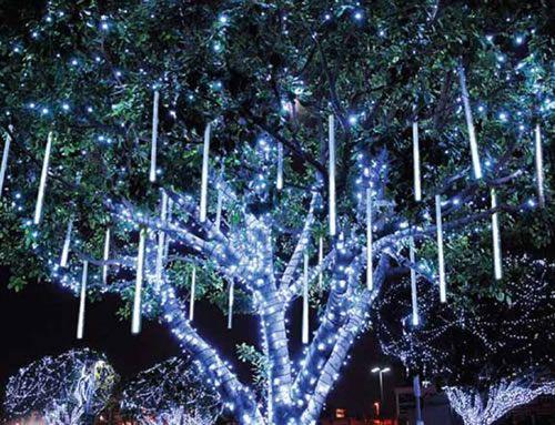 Meteor Christmas Lights
