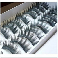 Wholesale Eye Perming - False Eyelash Perm Box 50box Lot (10pair=1box) 30 Style Choose Party Eye Lashes Fast Delivery By EMS