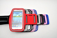 Wholesale S3 Gym Strap - Sport Armband Running Gym Arm Strap Holder Cover Case Pouch for Samsung Galaxy S3 S 3 III SIII I9300