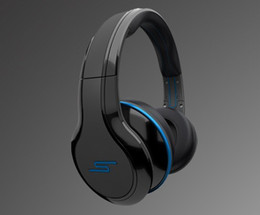 Wholesale Dj Headphones Over Ear - 2012 NEW Street by 50 Cent SMS Audio Sync Over-Ear Wired Stereo DJ Headphones Black White Blue Color